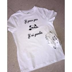 T-shirt Je peux pas j'ai (...